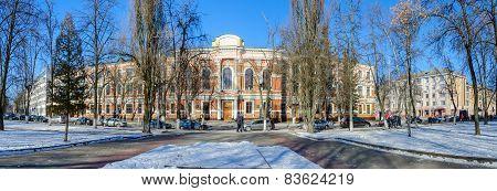 Belorussian State University Of Transport, Panoramic Views, Gomel, Belarus