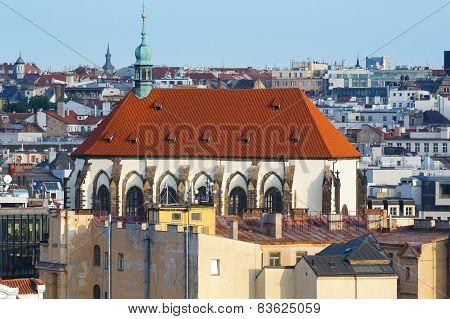 Prague City Evening View (czech Republic).