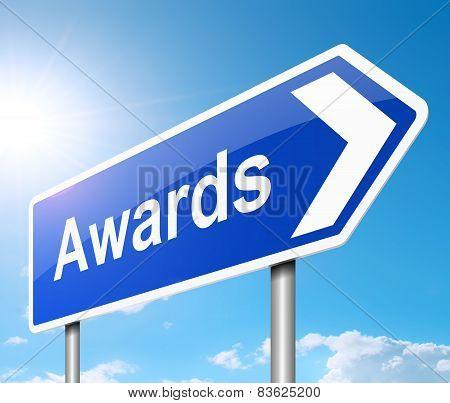 Awards Concept.