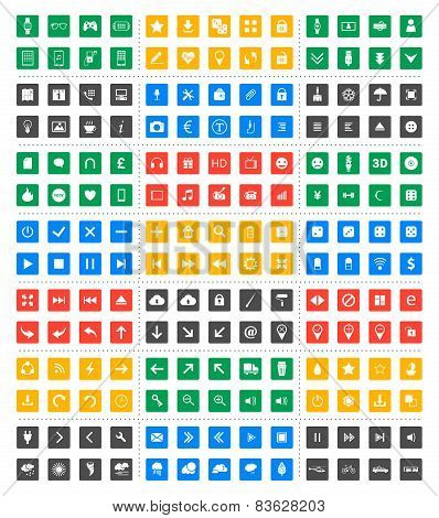 Universal Vector Icon Set - Material Design