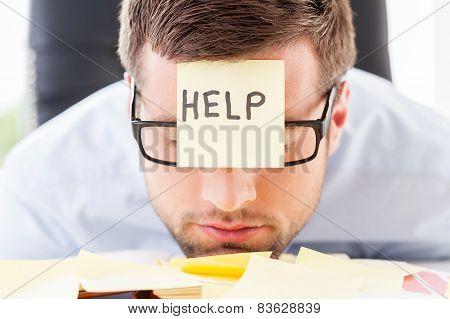 He Needs Help.
