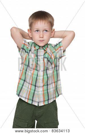Cute Little Blond Boy Imagines