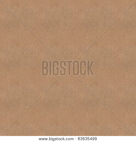 Seamless Light Brown Fabric Texture