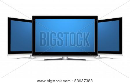 Three Plasma Lcd Tv