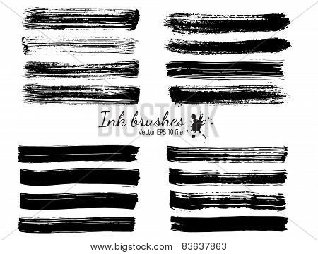 Ink vector brushes