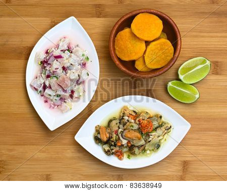Shellfish and Fish Ceviche