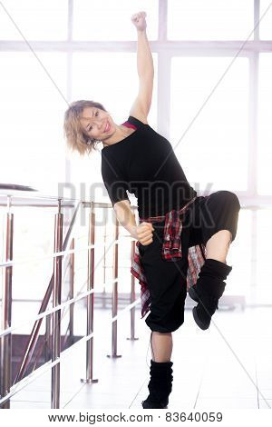Hip-hop Dancer Woman Training