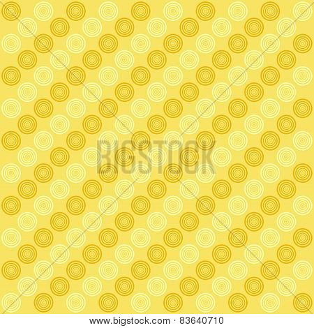 Abstract Background With Circles. Vector.