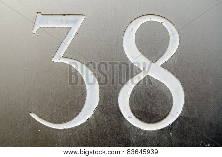 Number thirty eight