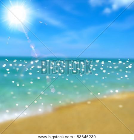 Sea, Beach And Sun