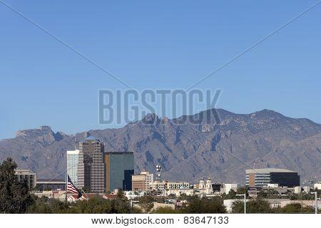 City of Tucson Downtown, AZ