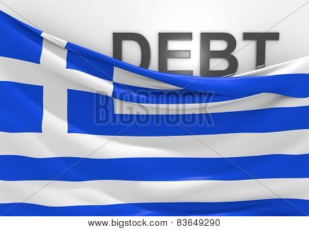 Greece national debt and budget deficit financial crisis