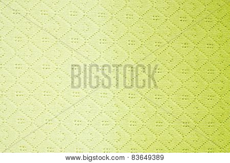 Close Up On Knit Woolen Texture.