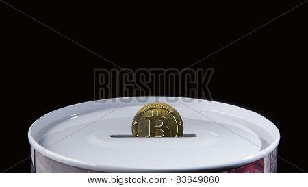 Bitcoin Saving Box