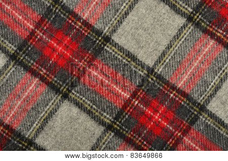 Scottish Tartan Pattern.