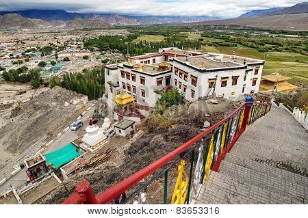 Spitok Monastery, Ladakh, Jammu And Kashmir, India