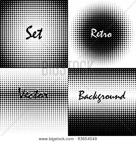 Retro Background Circles