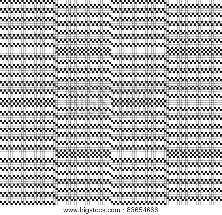 Black white grid pattern