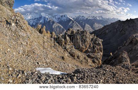 Green Canyon In Kyrgyzstan