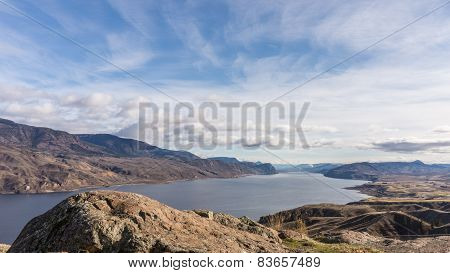 Kamloops Lake in British Columbia