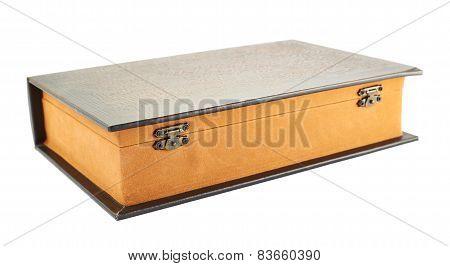 Secret book shaped casket