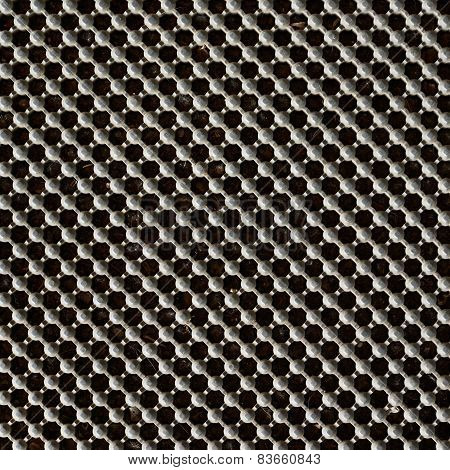 Metal lattice background