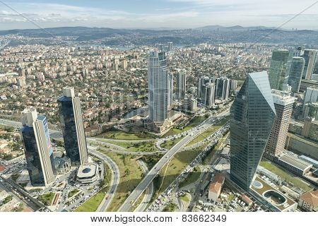 Levent District, Istanbul, Turkey