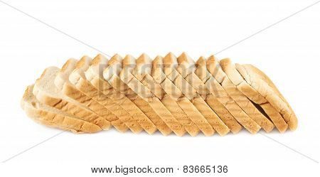 Sliced loaf of the toast bread