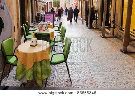Street Scene, Bassano Del Grappa