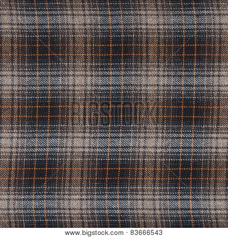 Squared cloth fabric