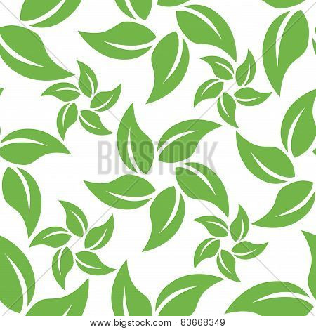 Abstract leaf pattern