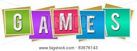 Games Colorful Blocks