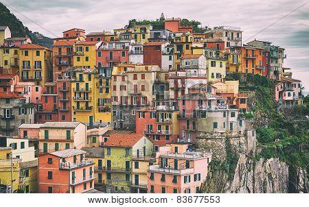 Manarola Cinque terre, Italy.