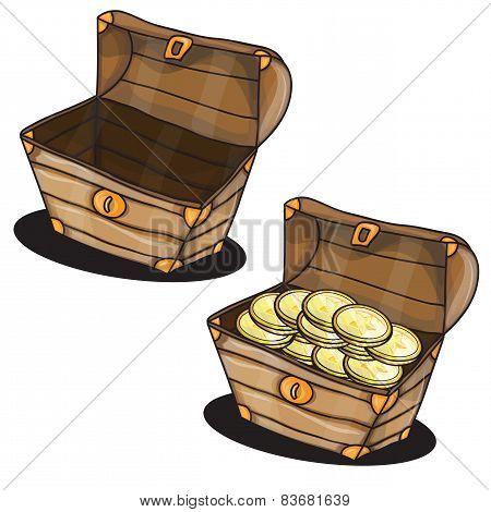 Cartoon chest