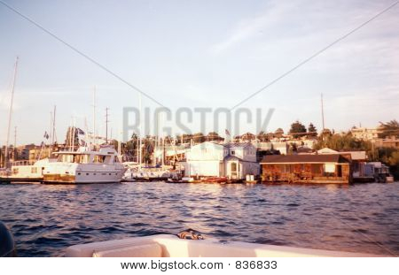 pier on thel ake
