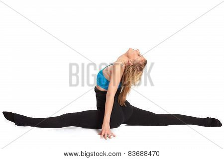 Young Sporty Woman In The Warm-up Workout