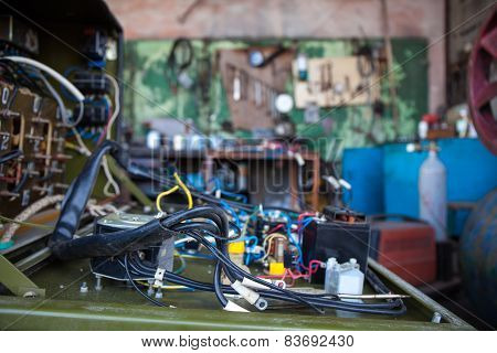 Mechanical Workshop-stock Photo