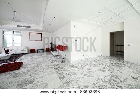 Bright Interior Of Living Room