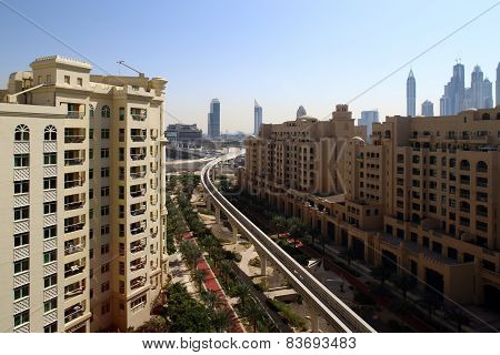 Downtown Of Dubai City