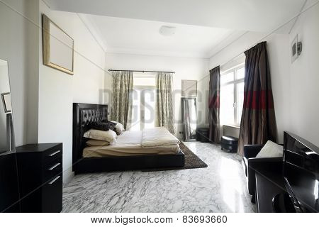 Nice Interior Of European Bedroom