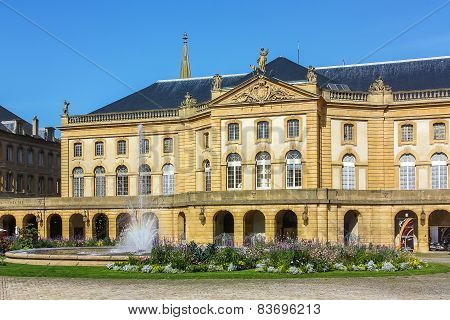 Opera Theater Of Metz, France