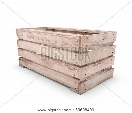 Emty Wooden Box