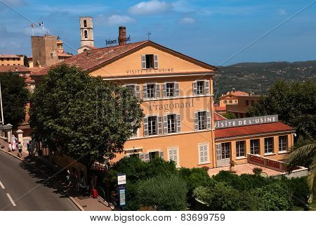 Grasse, France - July 5:  Parfumerie Fragonard Museum And Factory On July 5, 2014 In Grasse, France.