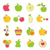 picture of food logo  - Apples - JPG
