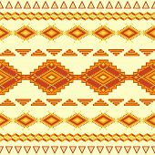 foto of aztec  - Aztec seamless pattern - JPG
