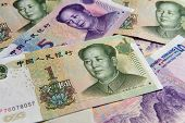 image of yuan  - China Chinese money  - JPG