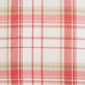 picture of fragmentation  - Fragment of a red and white squared cloth fabric as a background texture - JPG