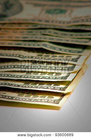 Cash Money On Table