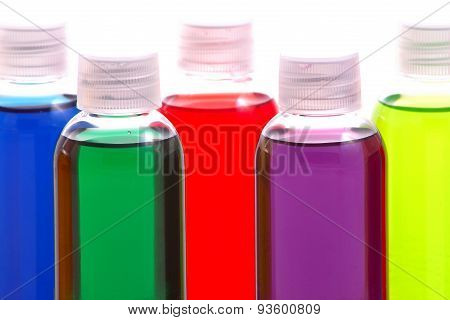 Colorful Chemical Samples