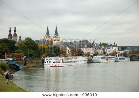 Moselle River, Kobelnz